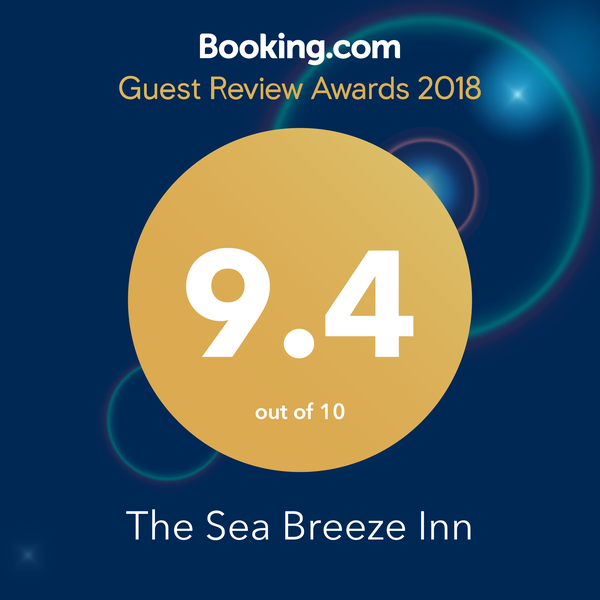 Booking.com 2018 Guest Review Award